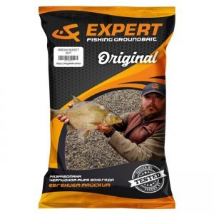 Прикормка UF Expert Original Bream Sweet Nut (Лещ Сладкий Орех), 1кг