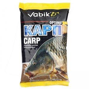 "Прикормка Vabik Optima Carp ""Карп"" (коричневая), 1кг"