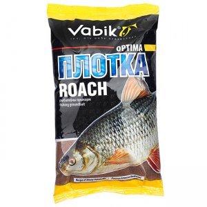 "Прикормка Vabik Optima Roach ""Плотка"" (коричневая), 1кг"