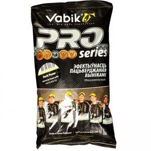 Прикормка Vabik Pro Dark Power (для плотвы, темная), 1кг