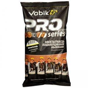 Прикормка Vabik Pro Method Formula (для методных кормушек, темная), 1кг