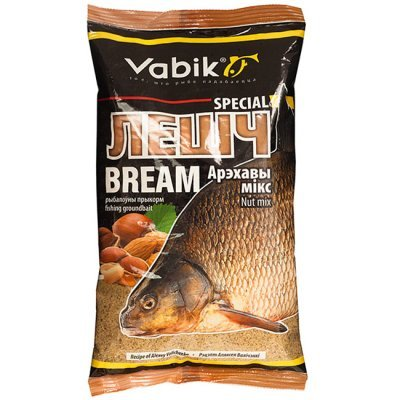 "Прикормка Vabik Special Bream Nut mix ""Лешч Арэхавы мікс"" (светлая), 1кг"