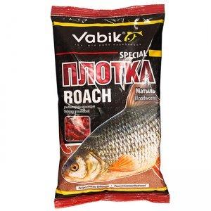 """Прикормка Vabik Special Roach Bloodworm """"Плотка Матыль"""" (красная), 1кг"""