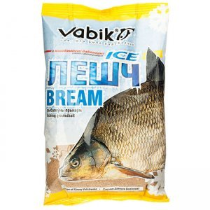 "Прикормка зимняя Vabik Ice Bream ""Лешч"" (желто-коричневая), 0.75кг"