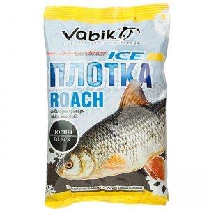 "Прикормка зимняя Vabik Ice Roach Black ""Плотка"" (черная), 0.75кг"