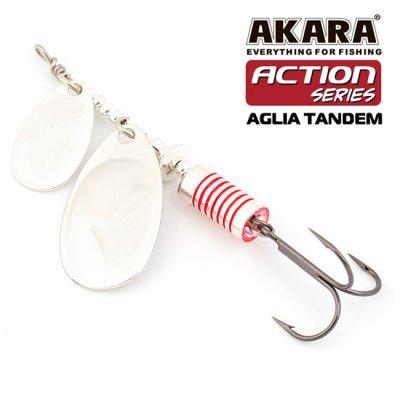 Блесна Akara Aglia Tandem №1/3, цвет: A19, 8гр