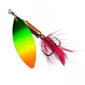Блесна Lucky John Spin X Long №2, цвет: FT, 4.0гр