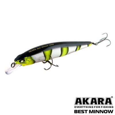 Воблер Akara Best Minnow 100SP, A72