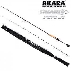 Спиннинг Akara Simanto Micro Jig TX-30 2.0м, 0.5-5.5гр