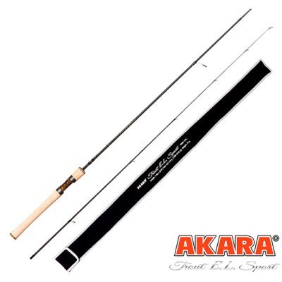 Спиннинг Akara Trout EL Sport UL (цельная ручка) 1.98м, 0.5-4.5гр