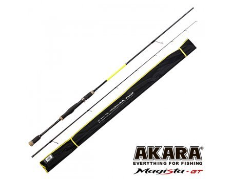 Спиннинг Akara Magista GT ML822 2.48м, 4.5-19гр