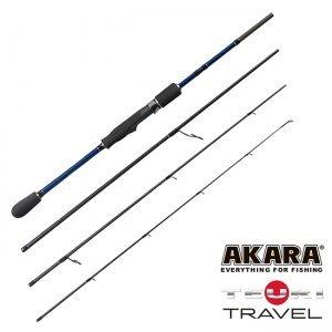 Спиннинг Akara Teuri Travel ML 2.28м, 4-17гр