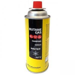 Газовый баллон EurAsia GP Butane Gas цанговый 400мл