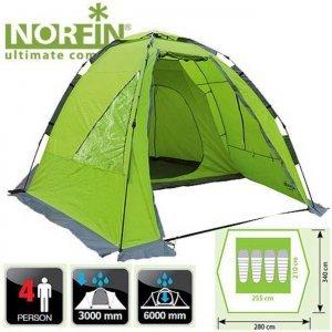Четырехместная палатка Norfin Zander 4 NF