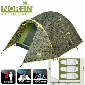 Трехместная палатка Norfin Ziege 3 NC