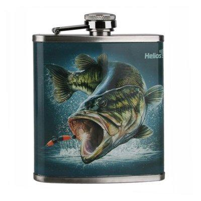 Фляжка Helios Рыба, 210мл