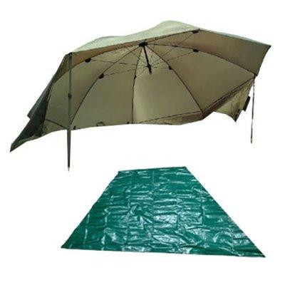 Зонт палатка Fish2Fish UA-8 с чехлом, D-250см