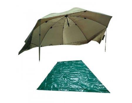 Зонт палатка Fish2Fish UA-9 с чехлом, D-300см