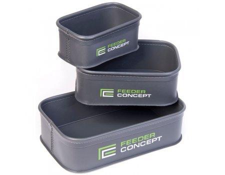 Емкости для прикормки и насадки Feeder Concept FC101B, 3шт (EVA)