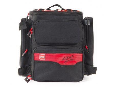 Рюкзак рыболовный с коробками Lycky John LJ121B, 40x38x23см