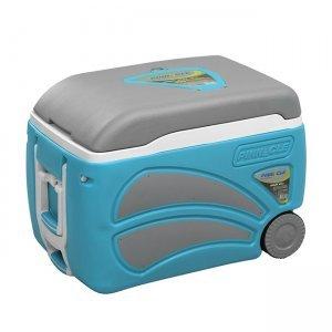 Изотермический контейнер на колесах Pinnacle Proxon (голубой), 45л