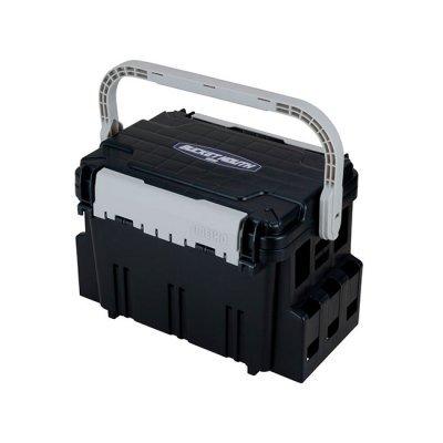 Ящик рыболовный Meiho Bucket Mouth BM-7000 Black, 47.5х33.5х32см