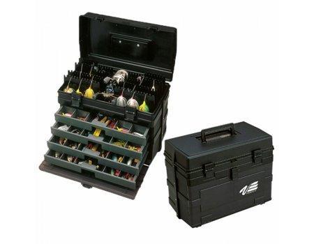 Ящик рыболовный Meiho Versus VS-8010 Black, 42х24.5х32.6см