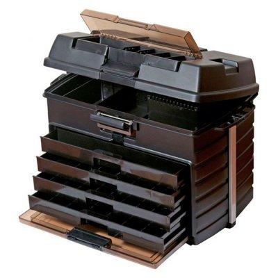 Ящик рыболовный Meiho Versus VS-8050 Black, 54.2x30x39.7см