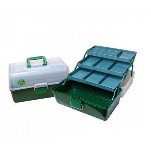 Ящик для рыбалки трехполочный Три Кита ЯР-4
