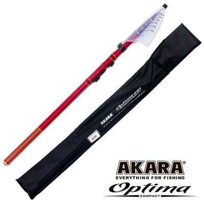 Удочка болонская Akara Optima Сompact 4.5м, 240гр