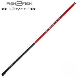Удилище маховое Fish2Fish Rapid Fiberglas 4м, 200гр