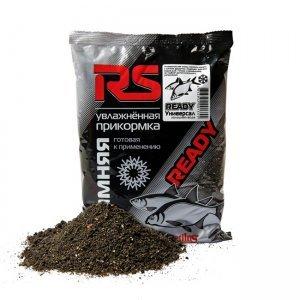 Прикормка увлажненная зимняя RS универсал (черный), 0.75кг