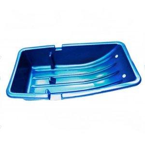 Санки для рыбалки Solar C-2/1 Combo синие, 830x450x220мм