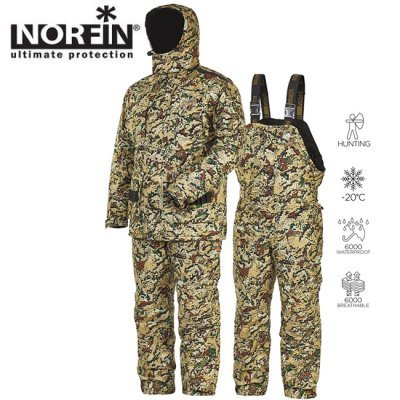 Костюм зимний Norfin Hunting Trapper Wind -20°С