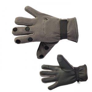 Перчатки Tagrider 095-7 неопрен. с флисом, 3 откидных пальца
