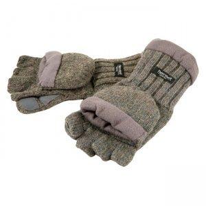 Рукавицы-перчатки Tagrider 1065-1 беспалые вязаные, темные