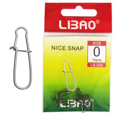Застежки Libao Nice Snap LB-006, 10шт