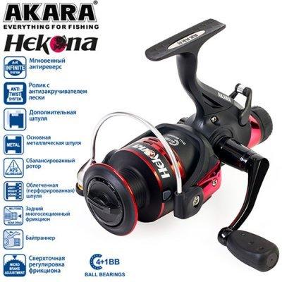 Катушка с байтранером Akara Hekona 5000, 4п.+1р.п