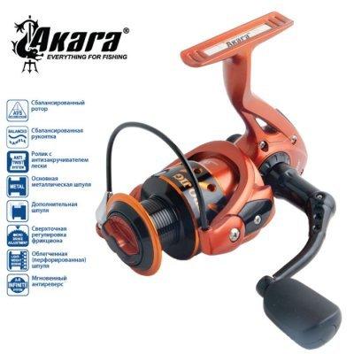 Катушка Akara Pro Jig PJF2000, 5п.+1р.п