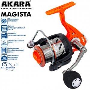 Катушка AKARA Magista AFM3000, 5п.+1р.п