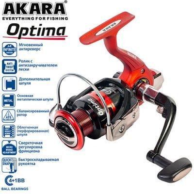 Катушка Akara Optima 500, 4п.+1р.п