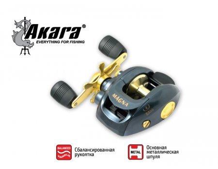 Катушка мультипликаторная Akara Magna 600, 4п