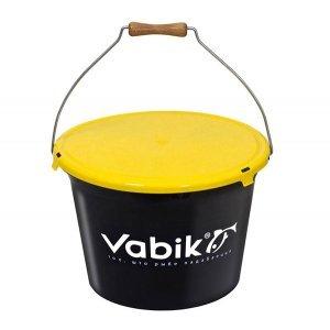 Ведро для прикормки Vabik 18л с крышкой