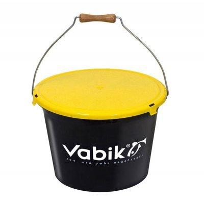 Ведро для прикормки Vabik 13-25л с крышкой
