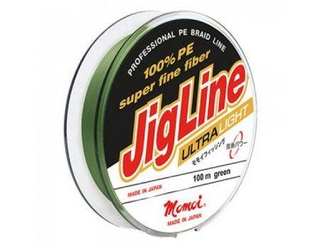 Плетенка Momoi JigLine Ultra Light 100м, зеленая