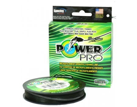 Плетеный шнур Power Pro Moss Green, 135м