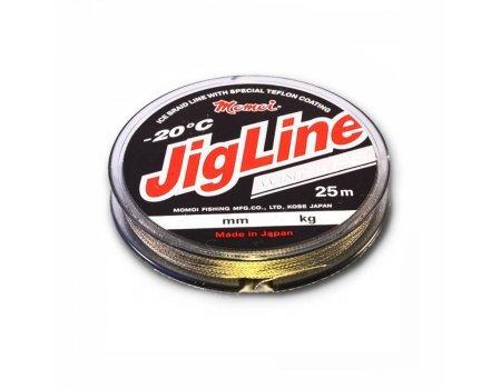 Плетенка зимняя JigLine Winter 4Х-25м, зеленая