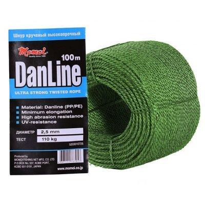 Шнур крученый Momoi DanLine 100м/2.5мм