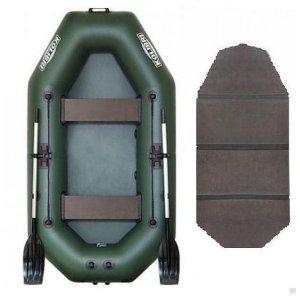 Лодка надувная ПВХ Колибри К-240Т (слань-книжка)
