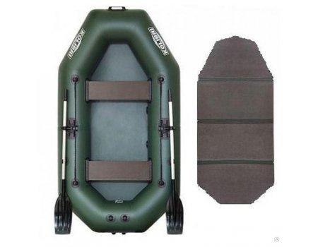 Лодка надувная ПВХ Колибри К-290Т (слань-книжка)